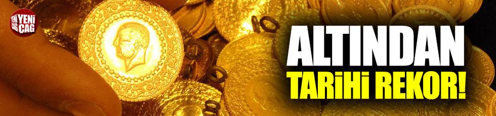 Altından tarihi rekor!