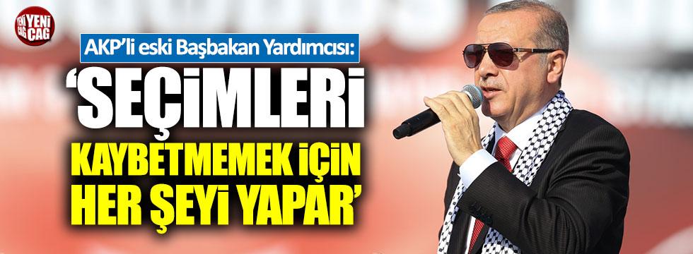 """Abdüllatif Şener: """"Erdoğan seçimleri kaybetmemek için her şeyi yapar"""""""