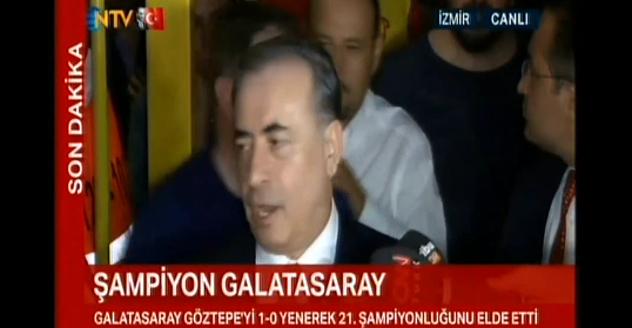 Mustafa Cengiz'den şampiyonluk açıklaması
