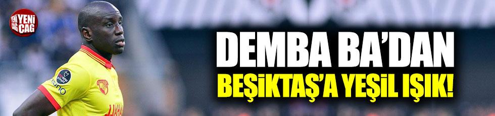 Demba Ba'dan Beşiktaş'a yeşil ışık