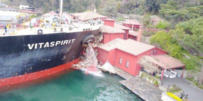 Yalıya çarpan gemide yeni gelişme