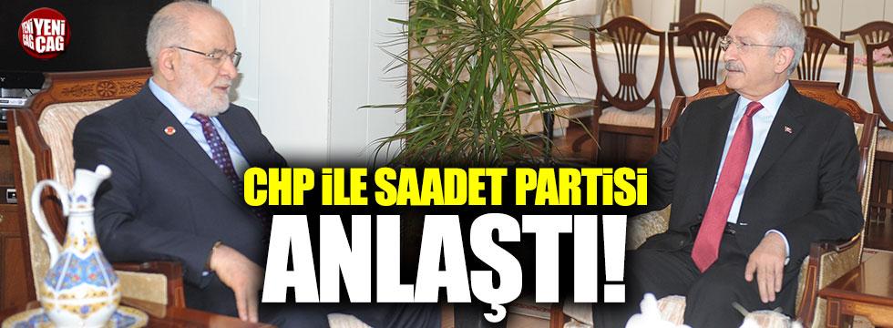 CHP ile Saadet Partisi, milletvekilleri konusunda anlaştı