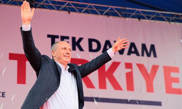 İnce: Türkiye'yi özgürleştireceğiz