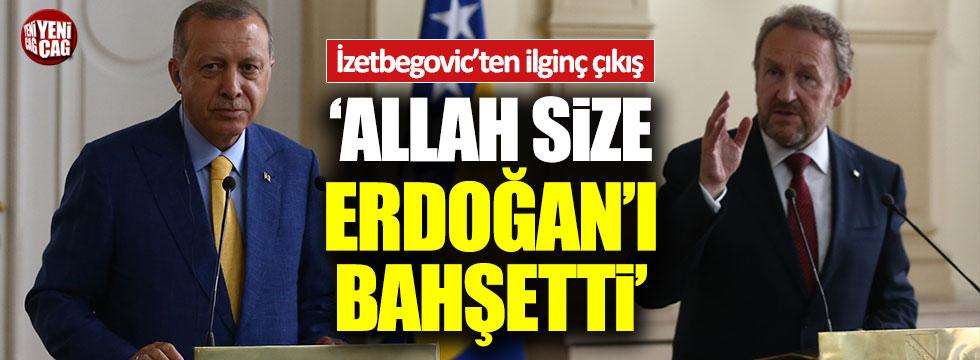 """İzetbegovic'ten ilginç 'Erdoğan' çıkışı: """"Onu size Allah bahşetti"""""""