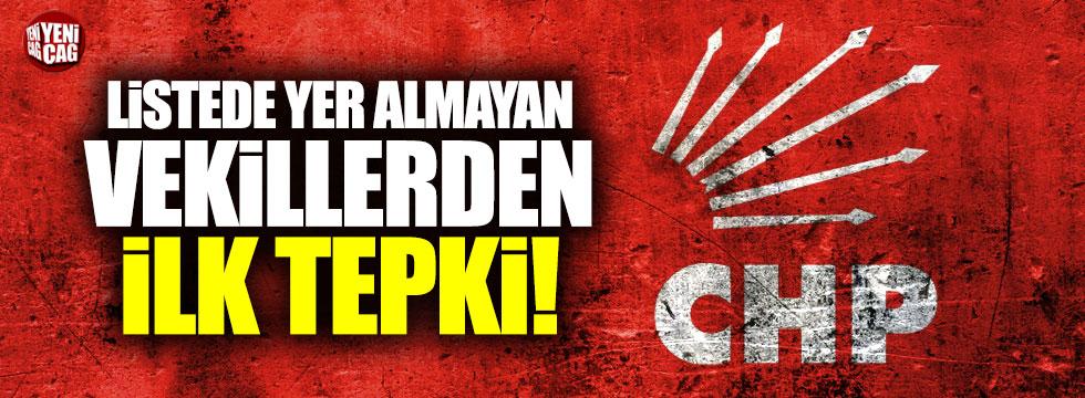 CHP'den aday gösterilmeyen isimlerden ilk tepki