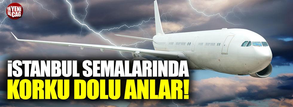 İstanbul semalarında korku dolu anlar