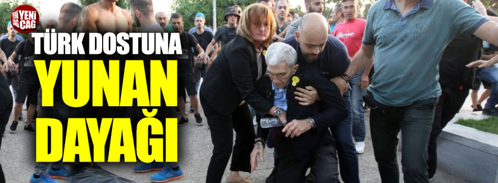 Türk dostu Selanik Beldiye Başkanı'na saldırı