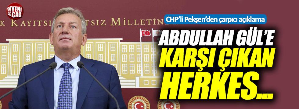 CHP'li Haluk Pekşen'den çarpıcı açıklama