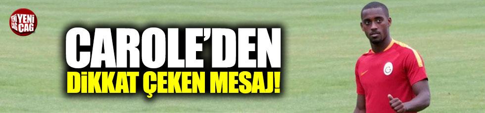Lionel Carole'den dikkat çeken 'Galatasaray' mesajı!