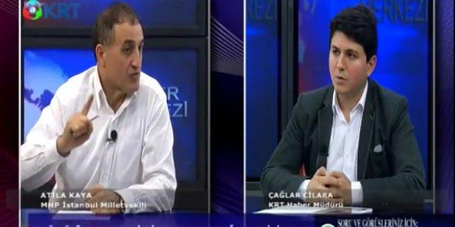 """MHP'li Atila Kaya: """"Ülkücüler, Tayyip Erdoğan'a oy vermeyecek!"""""""