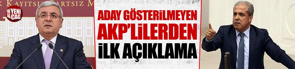 Aday gösterilmeyen AKP'li Metiner ve Tayyar'dan ilk açıklama