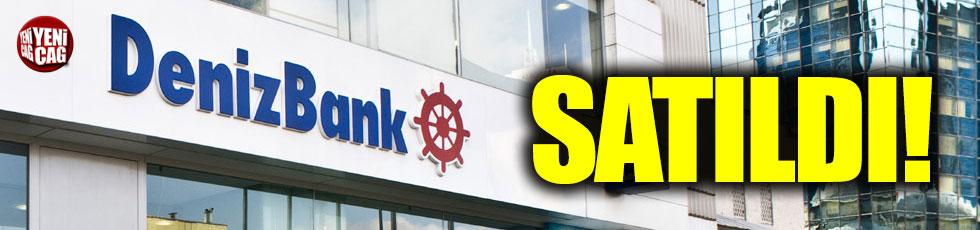 Denizbank satıldı