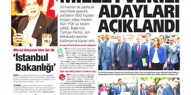 Günün Ulusal Gazete Manşetleri - 22 05 2018
