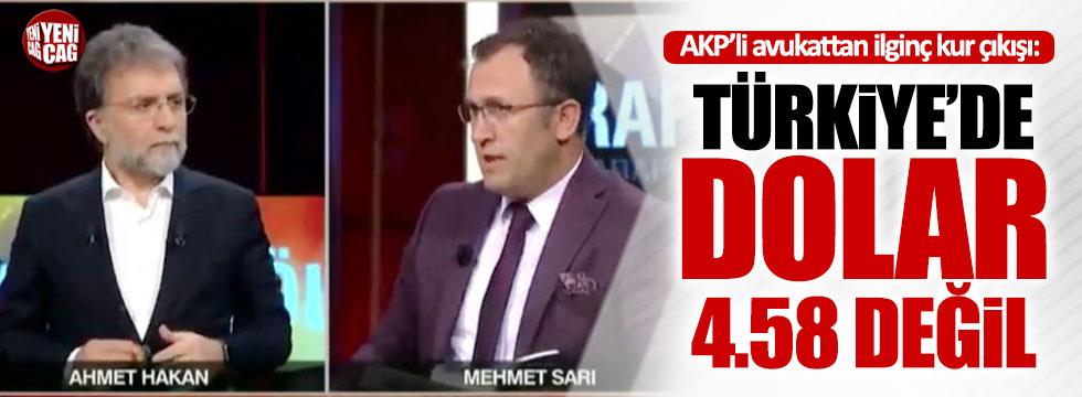 AKP'li isimden ilginç dolar çıkışı