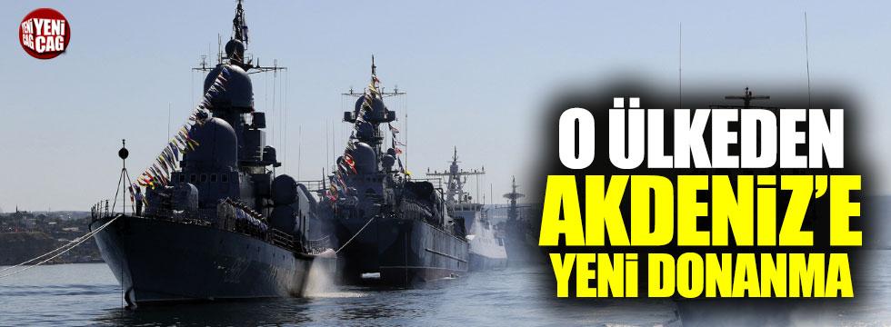 Rusya'dan Akdeniz'deki gücünü artırıyor