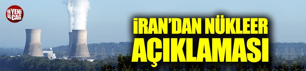 İran'dan nükleer açıklaması
