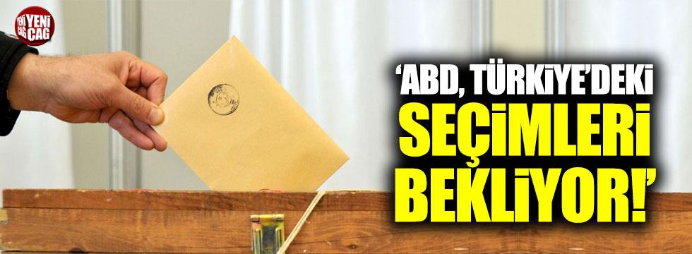 Karakuş: ABD, Türkiye'deki seçimleri bekliyor!