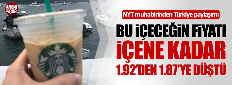 NYT muhabirinden Türkiye paylaşımı