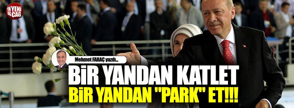 """Bir yandan katlet, bir yandan """"park"""" et!!!"""