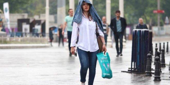 İstanbul'da yağmur!