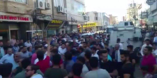 Nusaybin'de asker ve polise saldırı