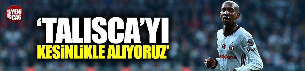 """Beşiktaş: """"Talisca'yı kesinlikle alıyoruz"""""""