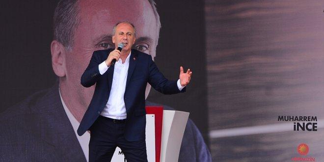 Muharrem İnce Erdoğan'ı geçti