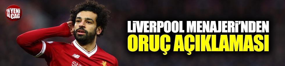 Liverpool Menajeri'den oruç açıklaması