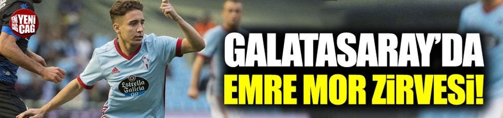 Galatasaray'da Emre Mor zirvesi