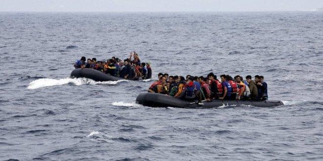Ege'de 74 kaçak göçmen yakalandı