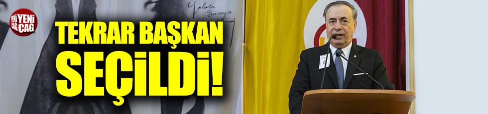 Galatasaray'da Mustafa Cengiz tekrar başkan