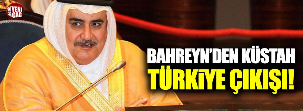 Bahreyn'den küstah Türkiye çıkışı