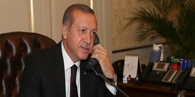 Erdoğan'dan Mustafa Cengiz'e tebrik