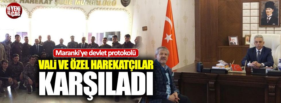 Skandal sözlerle gündeme gelmişti: Maranki'ye VIP karşılama