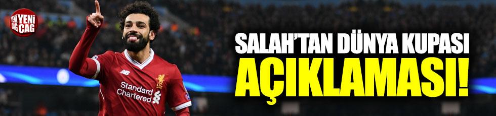 Salah'tan Dünya Kupası açıklaması