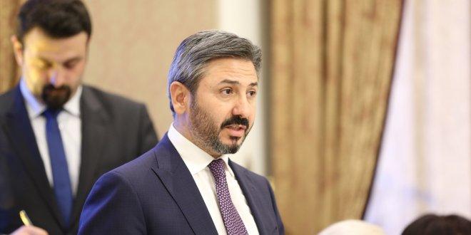 """AKP'li Aydın: """"Türkiye'yi amatör ligden aldık, şampiyonlar liginde oynatıyoruz"""""""