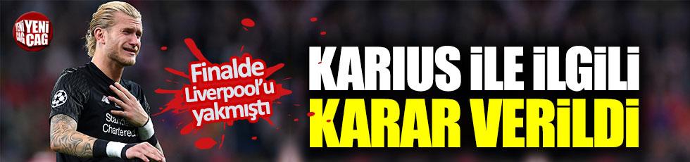 Liverpool, Karius ile ilgili kararını verdi