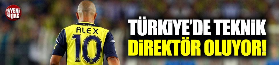 Alex, Türkiye'de teknik direktör oluyor