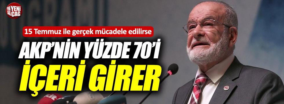 """Karamollaoğlu: """"Fazla incelerlerse kabak kendi başlarına patlar"""""""