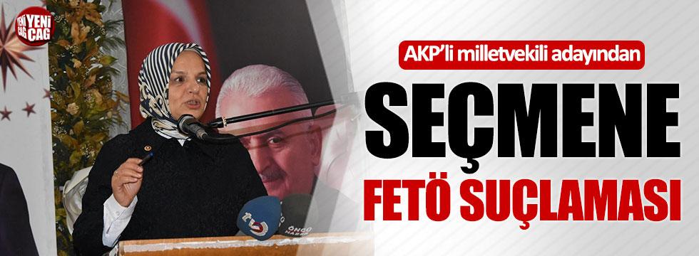 AKP Milletvekili adayından seçmene FETÖ suçlaması