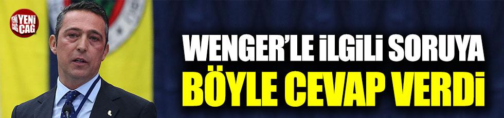 Arsene Wenger ile görüştü mü? Ali Koç'tan açıklama