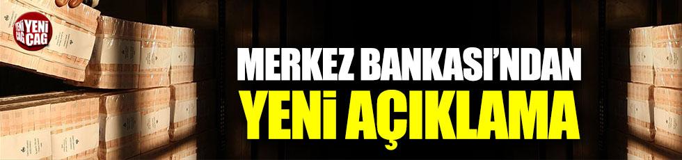 Merkez Bankası'ndan yeni açıklama