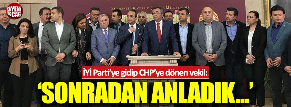 CHP Edirne Milletvekili Gaytancıoğlu'dan İYİ Parti açıklaması