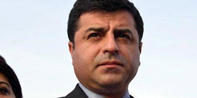 YSK'dan Demirtaş'a ret