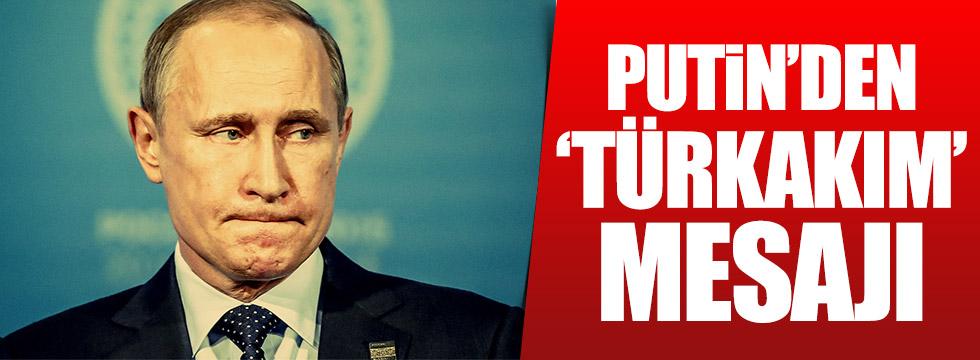 Putin'den 'TürkAkım' açıklaması