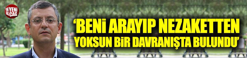CHP'li Özel'den Adalet Bakanı Gül'e tepki