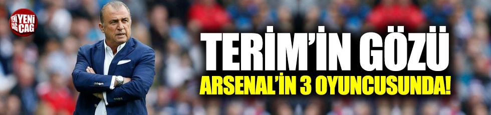 Terim'in gözü Arsenal'in 3 yıldızında!