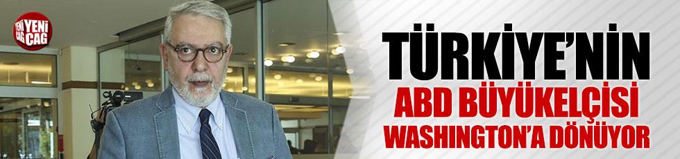 Türkiye'nin ABD Büyükelçisi Kılıç, Washington'a geri dönüyor
