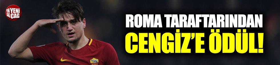 Roma taraftarından Cengiz'e ödül!