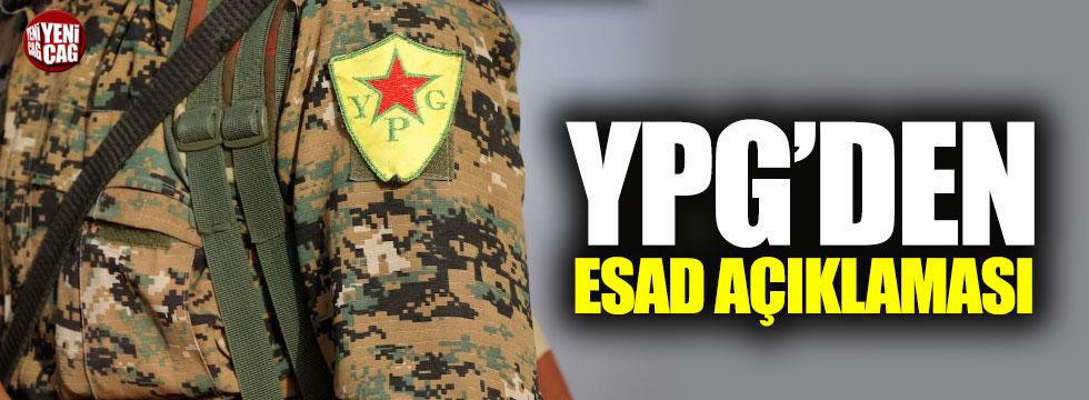 YPG'den Esad'a cevap